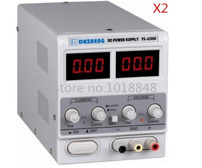 Variable 30V 5A DC Power Supply For Lab PS-A305D 110V/220V adjustment 2pcs/Lot икона янтарная богородица скоропослушница кян 2 305