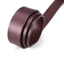 Leather Belt Pin Buckle Belt For Men