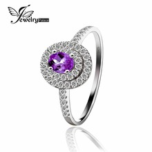 Greatest High quality Pure Amethyst Gemstone Romance Ring For Stunning Ladies Real 925 Sterling Silver New Ladies Jewellery On Sale