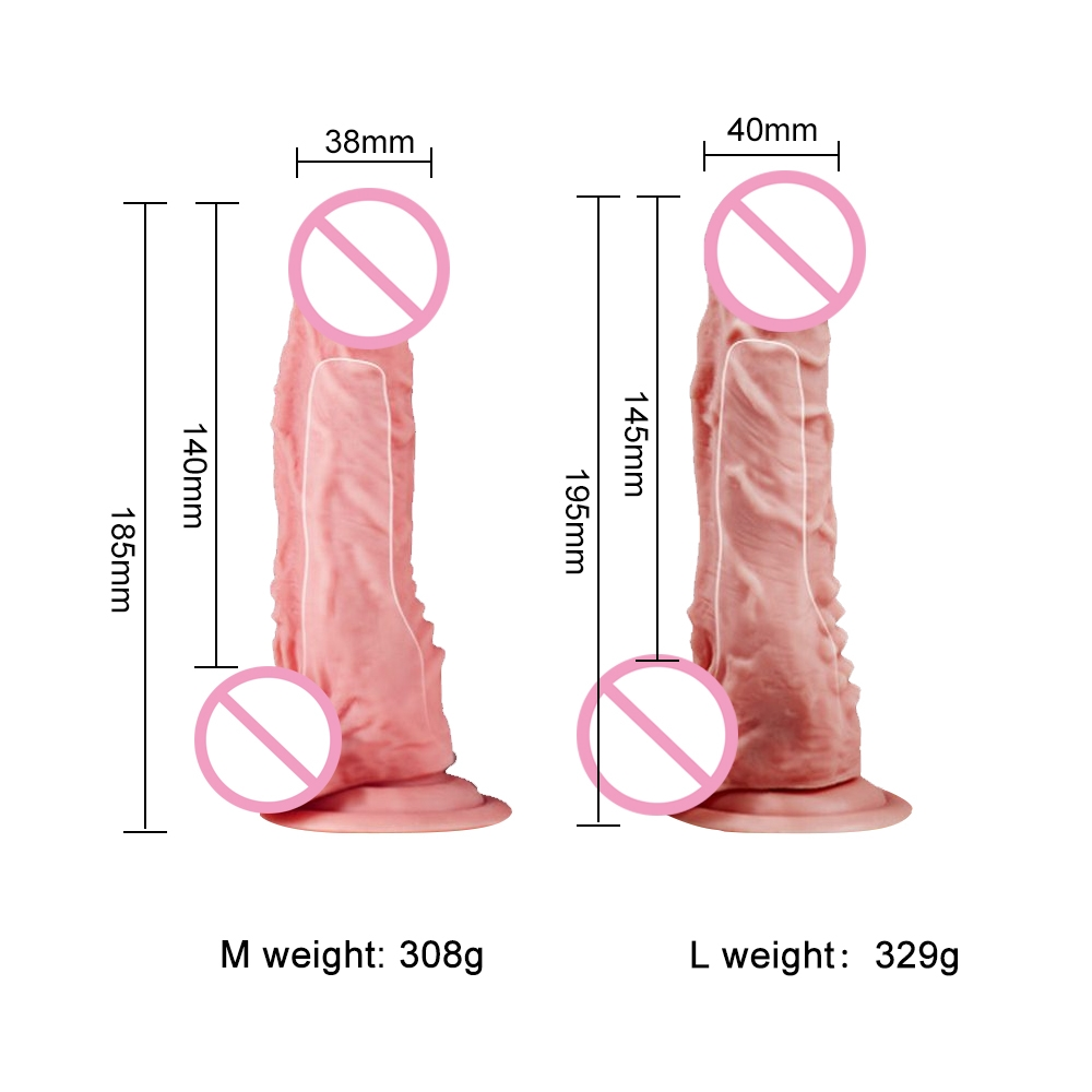 Strap On Dildo Realistic Sex Toys For Couples Men Wearable Safe Huge Dildo Panties Strapon Dildo 2019 New Adult Dildo for Women