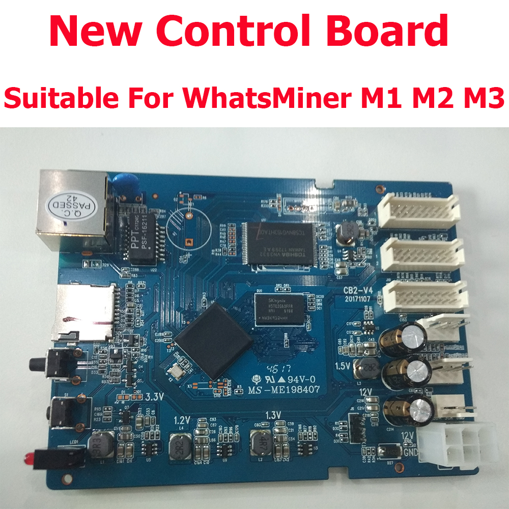 Free shipping New Control Board for Bitcoin Miner WhatsMiner M1 M2 M3 In Stock hot sale board game never have i ever new hot anti human card in stock 550pcs humanites for against sealed ship free shipping