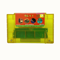 Super 65 in 1 HACK EDITION for 16 bit video game cartridge for USA version game player (30 games Can Battery Save)