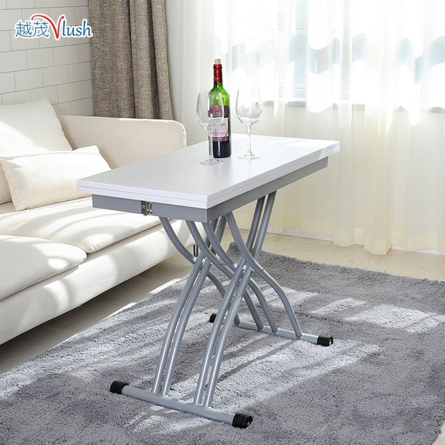 Imported Coffee Table Small Apartment Minimalist Multifunction Lift Telescopic Dual