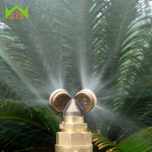 Brass Micro Spray Nozzle Garden Sprinklers Water Irrigation Systems Aspersor Home Gardern Sprayer Lawn Agricultural Mist Nozzle