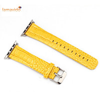 For Apple Watch Band 42mm Crocodile Pattern Genuine Leather Correa Watchband For IWatch Strap Correa 38mm