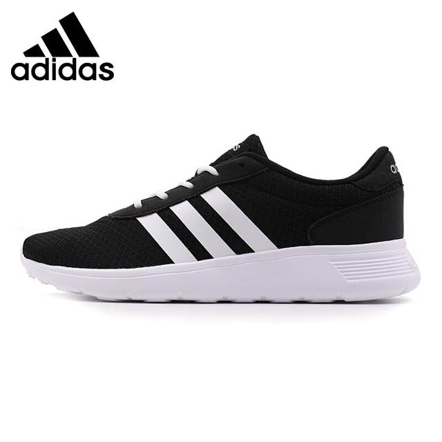 94de4c8fe76b9a Official Original Adidas NEO Label LITE RACER Low Rubber thread Men s  Skateboarding Shoes Sneakers Breathable Hard-Wearing Cozy