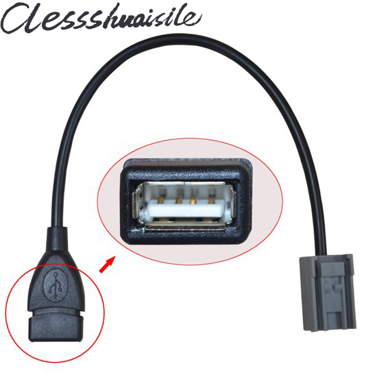 USB iPod Flash Stick Adapter Cable for Honda Civic Accord Jazz Fit CRV CRZ Insight