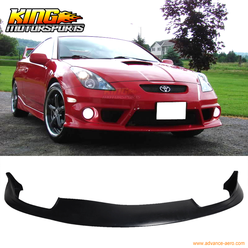 Fit For 00 01 02 Toyota Celica JDM Front Bumper Lip