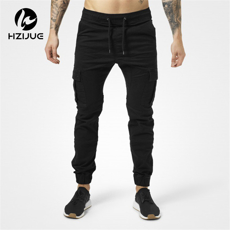 Iselinstorm Comprar Mens Jogger Otono Lapiz Pantalones Harem 2018 Hombres Verde Del Ejercito Loose Comodo Cargo Camo Basculadores Online Baratos