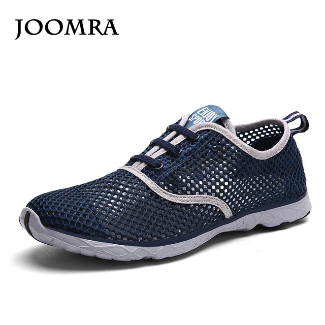 1121962970a9 Joomra Men Lightweight Running Shoes Mesh Breathable Outdoor Sport Shoes  2018 Summer Men Sneakers Jogging Shoes For Male Shoes