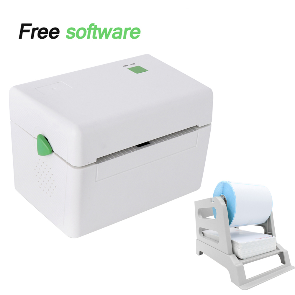 Gzl4001 high speed 4inch s usb port sticker printer barcode label printer thermal printer can print qr code supermarkets clothes