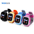 Wonlex 2016 GSM GPS WIFI Watch Tracker Touch Screen MTK2503 GW100 Smartwatch Phone SOS Child Tracking Watches Free shipping
