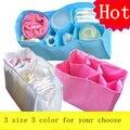 Saco de Fraldas do bebê Mãe Saco Storange Inner 3 Tamanhos de Viagem Saco de Fraldas Do Bebê Saco Do Bebê De Maternidade Bolsa maternidad Para Bebe