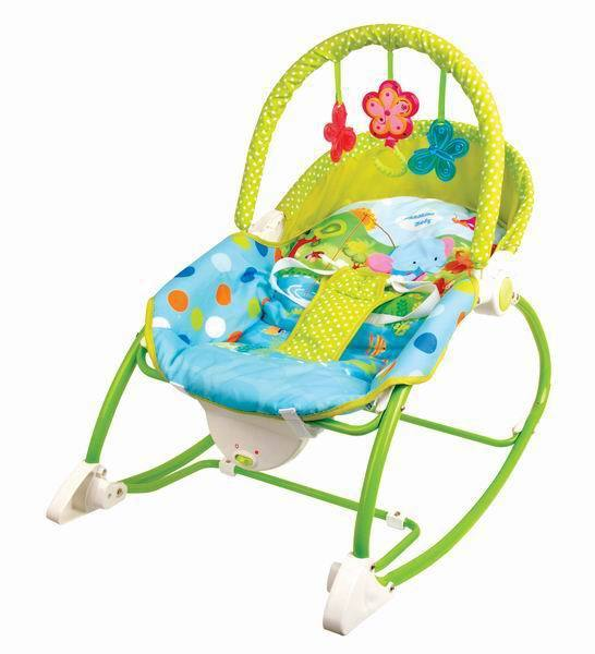 Baby Rocker Chair Discount Gold Covers Electric Bouncer Swing Rocking Toddler In