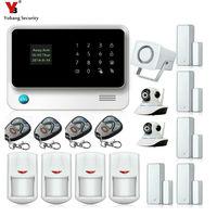 Yobang Security WIFI House Intelligent Auto Burglar Door Security Alarm Systems Camera Protection Door Open/Close Motion Alarma