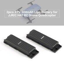 2 pcs Original 3.7 V 500 mAh Lipo Bateria para RC Quadcopter Drone JJRC H47 Parte o Wi-fi Zangão Bateria acessórios
