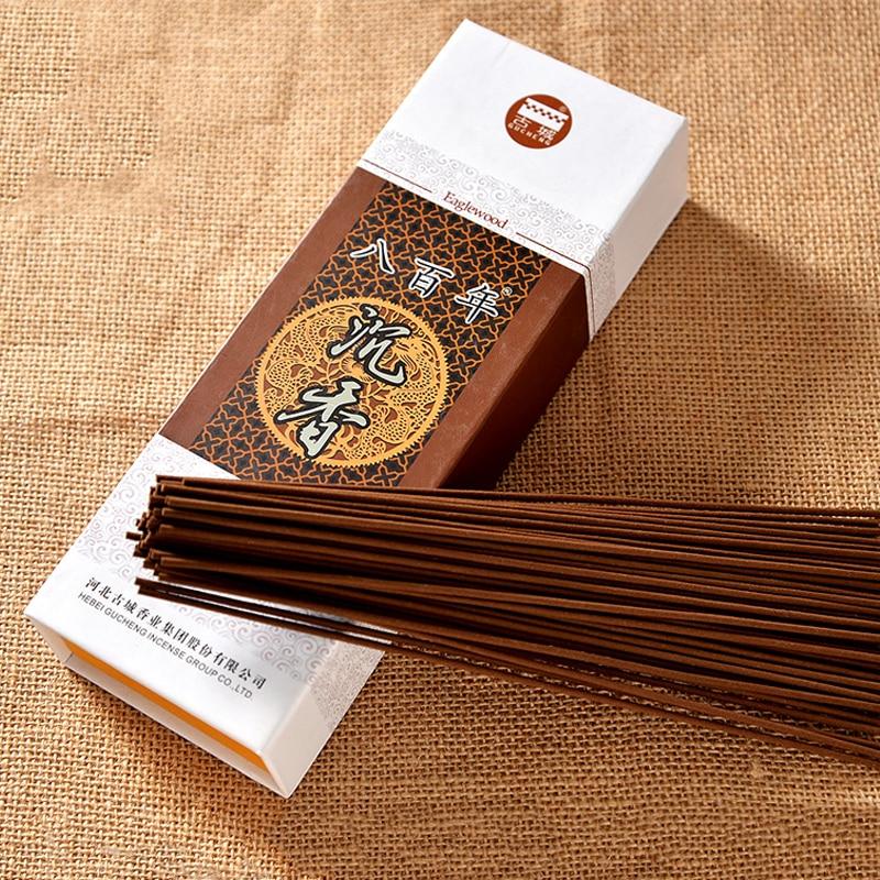 Bâton d'encens chinois fait à la main parfum naturel Agarwood pour Yoga Salon de beauté maison aromathérapie arôme bâtons encens décor