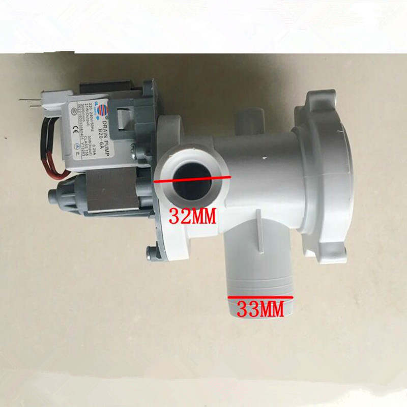 цена на for washing machine Original parts B20-6A 220-240V/50Hz 30w drain pump motor good working