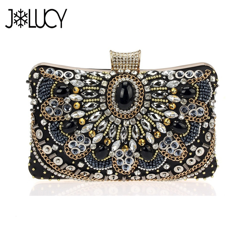 New Brand Design Fashion Luxury Diamonds Chains Women's Evening Bag Shoulder Ladies Party Clutch Bags mance 13colors new fashion brand