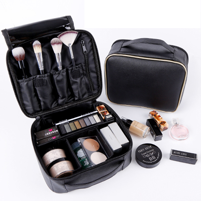 New Professional Makeup Bag Women Cosmetic Case High Quality Leather Female  Korean Make Up Box Large ... 6dd99af00