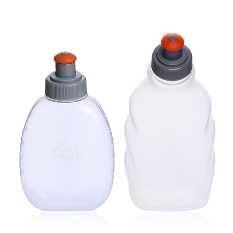 AONIJIE 170/250/300ml Outdoor Sport Bottle Hydro Soft Flask Running Hiking Camping Gym Fitness Bicycle Water Canteen Kettle