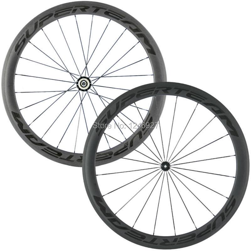 700C carbone roue 50mm carbone pneu roues chine haute qualité roues avant et arrière