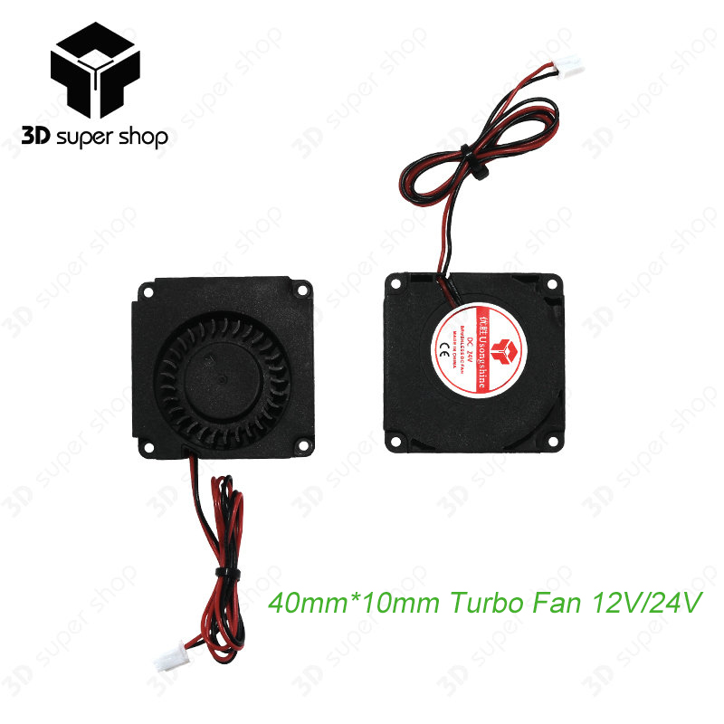 Computer & Büro 10mm 4010 Dc Turbo Fan 5 V Lager Gebläse Radial Lüfter Für Creality Cr-10 Kit Duftendes Aroma 3d Drucker Zubehör 12 V 24 V 40mm