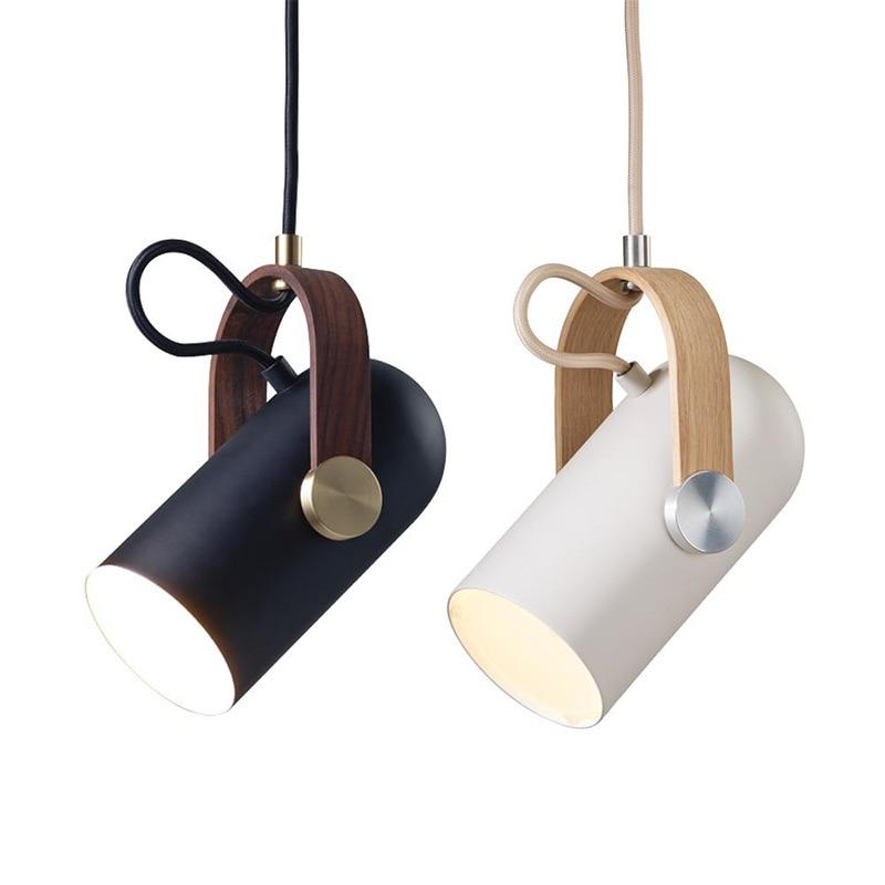 Modern Single Pendant Light Hanging Spotlight E27 for Clothing Shop Bedroom Nordic Hanging lamp Bar Cafe Bedside Picture light nordic modern hanging