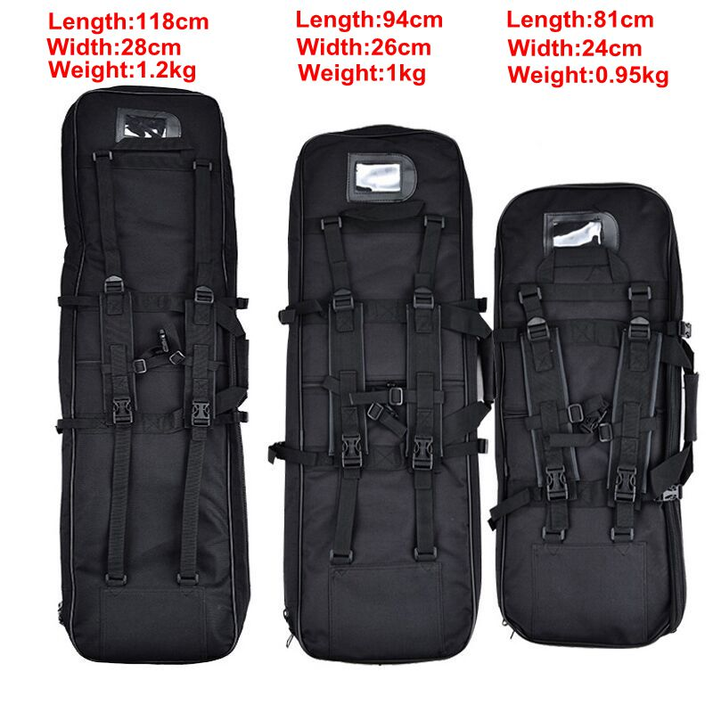 81/94/118CM High Density Nylon Rifle Case Gun Bag Tactical Airsoft Bag Outdoor Sport Shooting Hand Gun Accessories Backpack