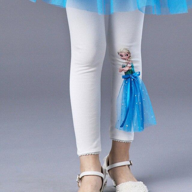 4 т до 10 т детская одежда для девочек весна осень розовый голубой кружевной отделкой рейтузы с юбкой детские, хлопковые леггинсы для принцессы штаны для девочек