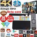 CSA93 Android 6.0 TV Box Amlogic S912 Octa Core 2G/16G 3G 32G 1000M LAN WiFi 2.4G/5.8G H.265 4K Media Player Set top box PK X92