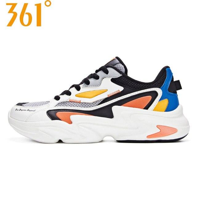 361 градусов 2019 Лето Новое поступление мужские ретро кроссовки дышащие подушки стильные спортивные кроссовки 671936786