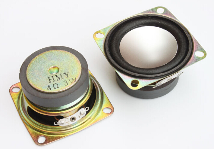 2inch Speaker Mini Audio Diy Speaker 4Ohm 3W  53mm