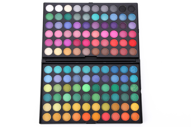 Professional with logo 120 Color Fashion Eye shadow palette Cosmetics Mineral Makeup Eye Shadow Palette eyeshadow set 120#1