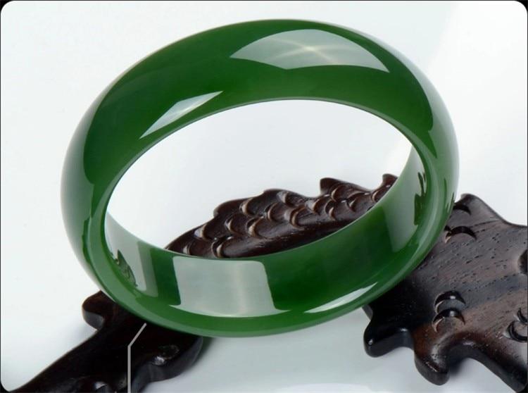 Fine jewelry natural hotan yu bracelet/ hotan jade 19 247 128