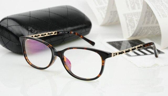 Fashion Full-rim Round Frame Eyeglasses Retro Women Prescription Optical Eyewear Frames Oculos de grau 4 Color High Quality 3221