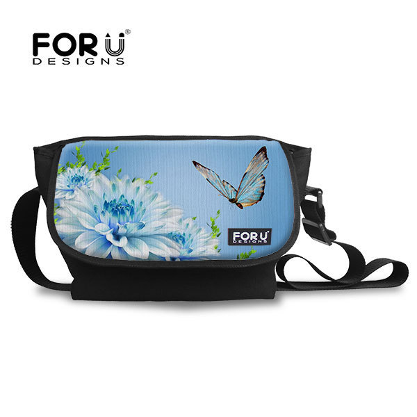 FORUDESIGNS Children School Bags Cute 3D Brand Butterfly Cat Face Pattern Schoolbag Mochila Kids Book Bags Purse Free Shipping