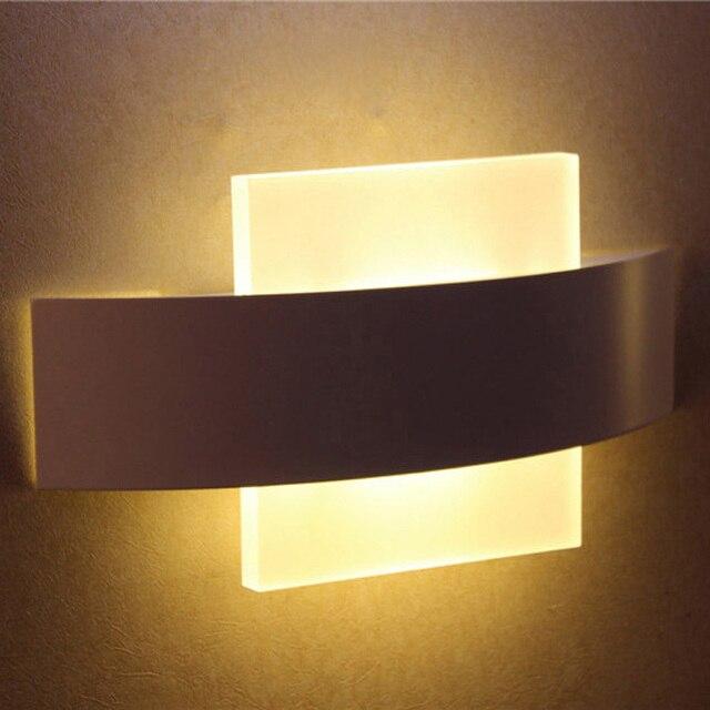 Moderno LED wall sconce LED soggiorno foyer camera da letto applique ...