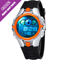OHSEN Movement Digital Children Watches For Boys Waterproof 7 Colors Back Light LED Kids Watches Sport Student Digital-watch