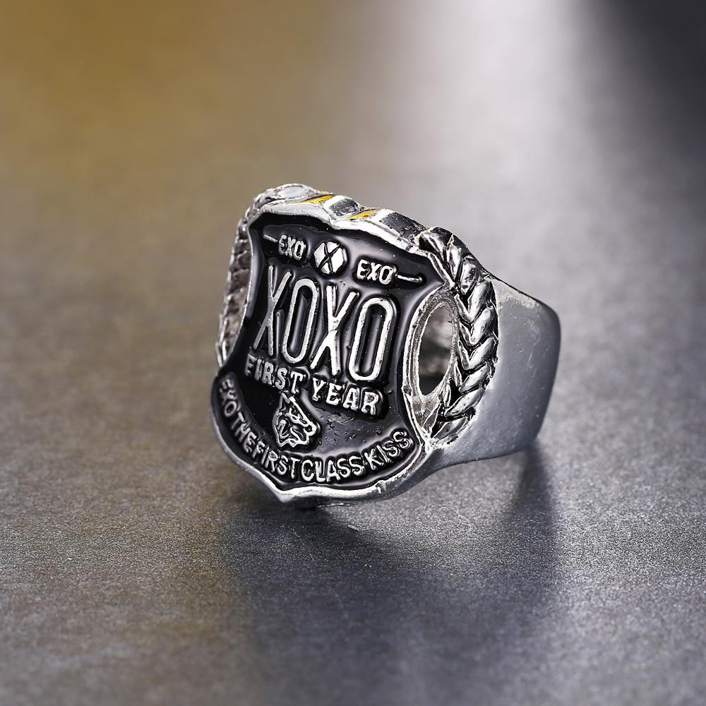 Exo Xoxo Ring With Stamp-9957