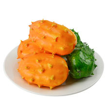 050 Fake fruit simulation decoration model / creative display fire ginseng props Fire 12*7.5cm