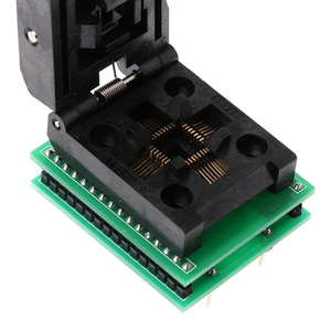 Image 4 - TQFP32 QFP32 ZU DIP32 IC Programmer Adapter Chip Test Buchse SA663 Brenn Sitz