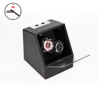 New Arrival P0078 CF Carbon Fiber Multi Modes Watch Storage Box Automatic Watch Winder