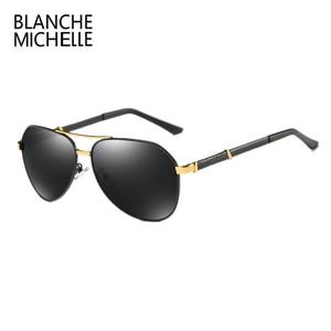 Image 5 - High Quality Pilot Polarized Sunglasses Men UV400 Driving Sun Glasses Mens Vintage Sunglass Man 2020 okulary oculos With Box