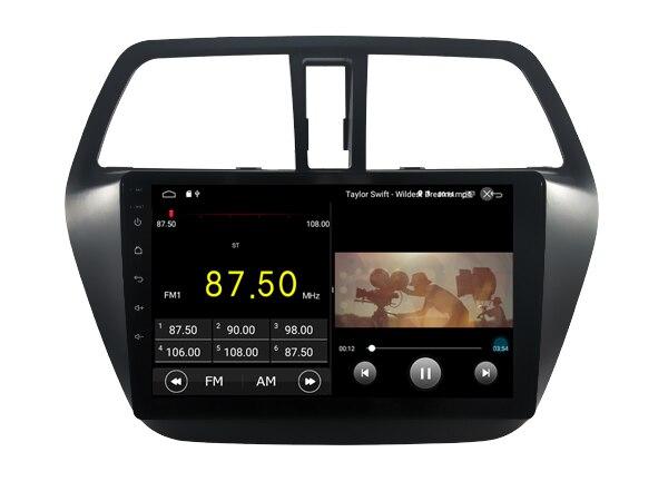 Elanmey haut équipé 8 cœurs + 4 go de ram + 64G rom android 8.1 autoradio pour Suzuki sx4 s-cross DSP Gps navigation multimédia headunit - 4