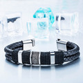 Beier Genuine Cowhide Bracelet  simple styles for men and women Bracelet  fashion  jewelry   BC-L015