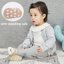 Toddler Socks Fashion Newborn Baby Cartoon Anti-skid Cotton Floor Infant Girl Winter Clothes