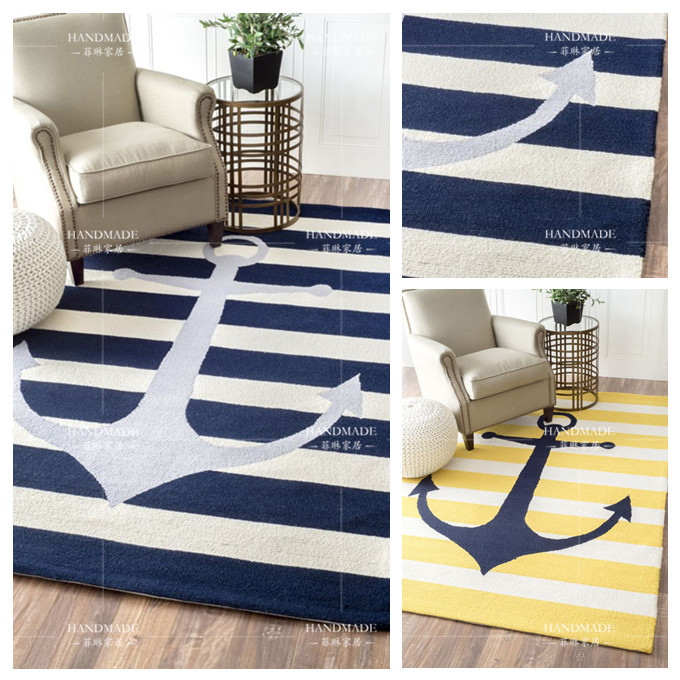 acrylic simple Mediterranean anchor thick carpet modern living room bedroom rug bed rectangular kids play pad crawling tapetesacrylic simple Mediterranean anchor thick carpet modern living room bedroom rug bed rectangular kids play pad crawling tapetes