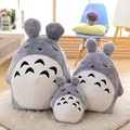 45/75cm 2017 New Style Squint Sleep Totoro Plush Toys kids pillow cushion totoro cloth Doll baby toys Christmas present