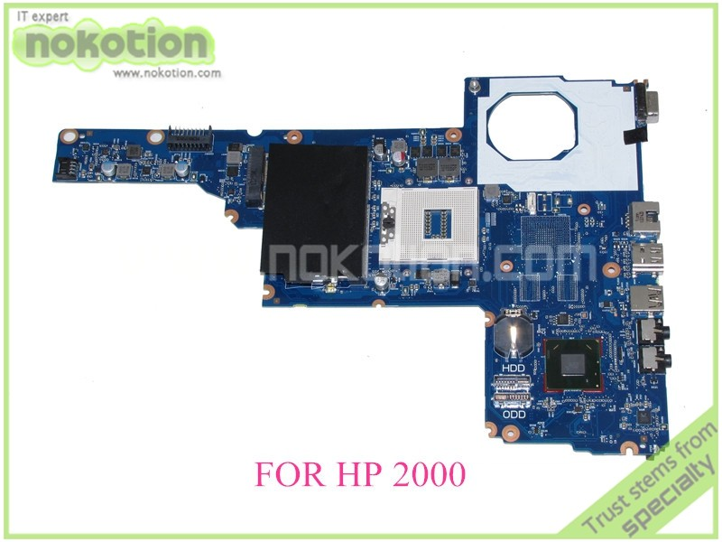 685107-501 685107-001 laptop motherboard For hp 2000 450 Notebook PC System board / main board J8F DDR3